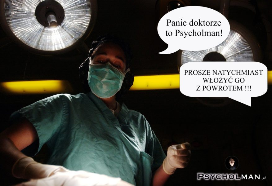 Psycholman narodziny